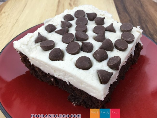 Chocolate Chip Brownies by The Allergy Chef