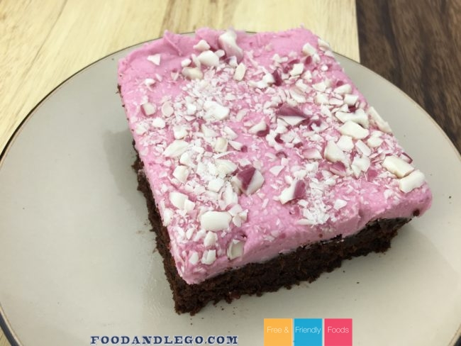 Peppermint Brownies by The Allergy Chef