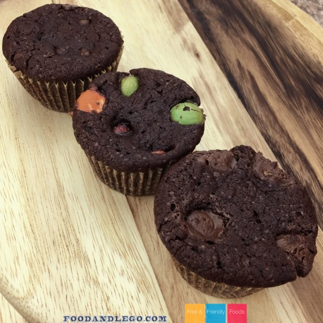 Candy Stuffed Brownies by The Allergy Chef