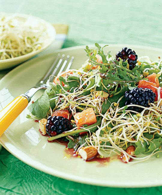 Broccoli & Blackberry Salad