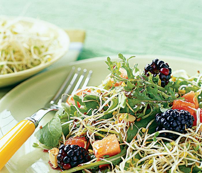 Broccoli & Blackberry Salad