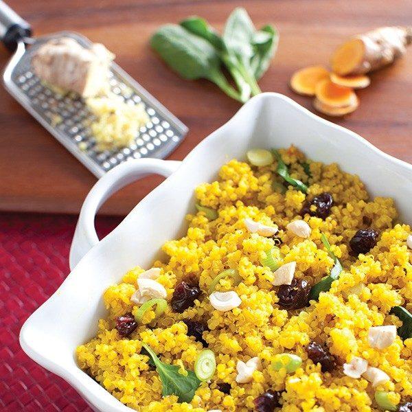 Golden Quinoa Pilaf
