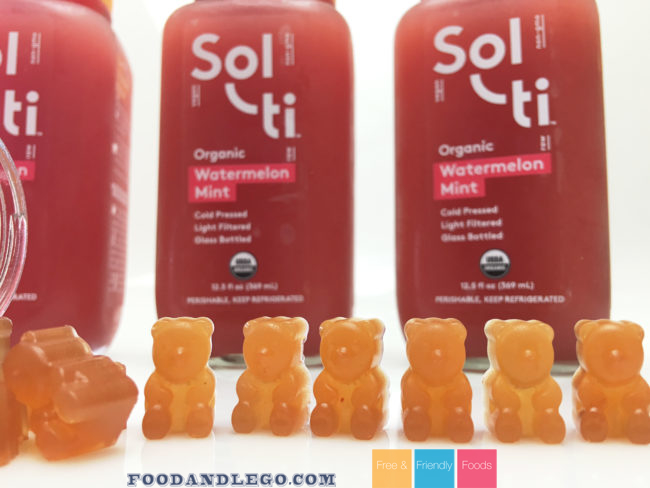 Solti Watermelon Gummy Bears Vegan Gluten Free Corn Free