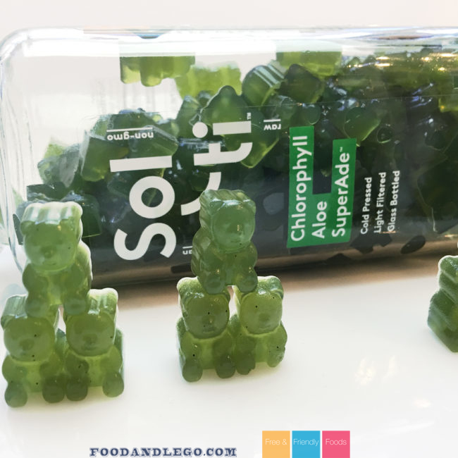 Green Gummy Bears y The Allergy Chef - Vegan, Gluten Free, Corn Free