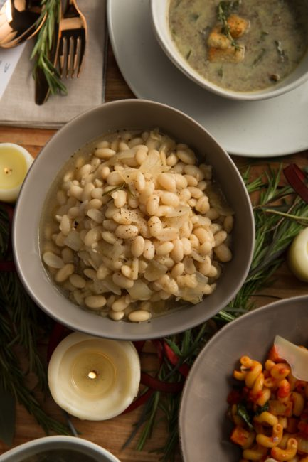 Braised Cannellini Beans