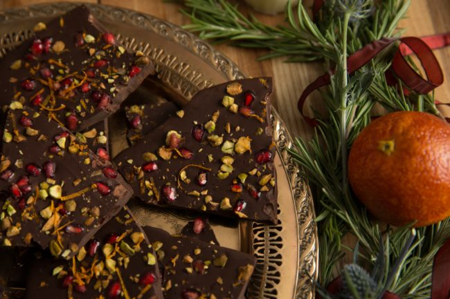 Holiday Chocolate Bark