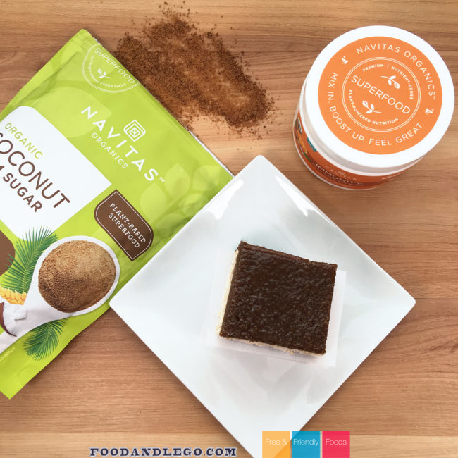 Navitas Immunity Caramel Squares by The Allergy Chef