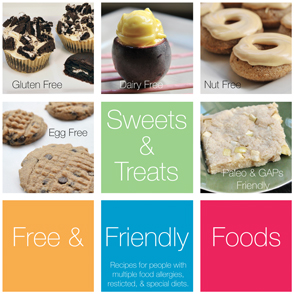 Sweets and Treats Volume 1 by Free & Friendly Foods