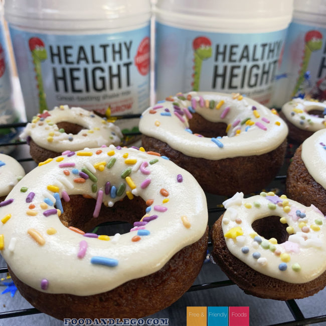 Healthy Height Donuts by The Allergy Chef