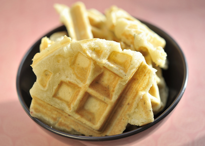 Corn free waffle bread