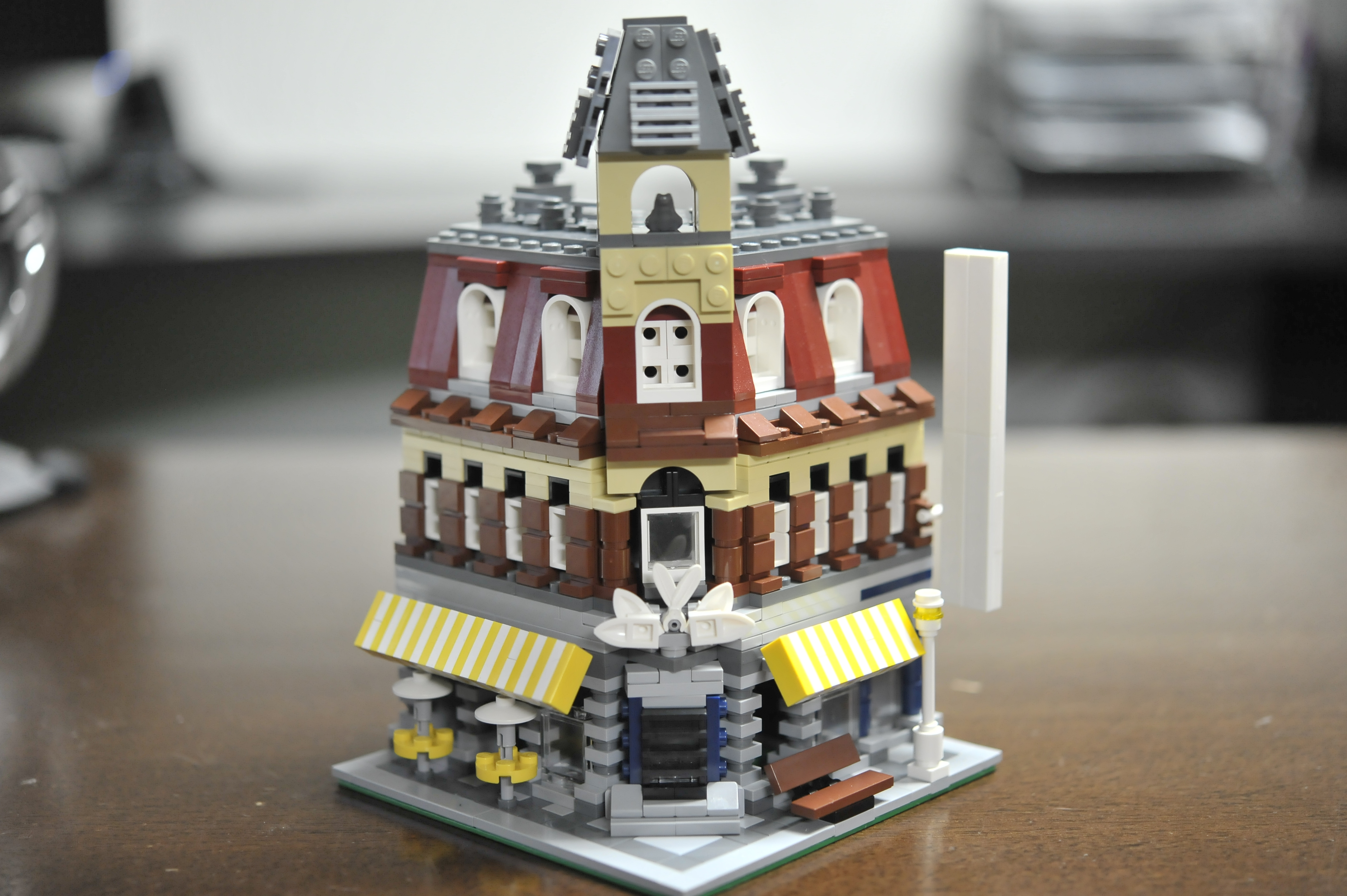 LEGO Cafe Corner Scaled MOC by The Allergy Chef