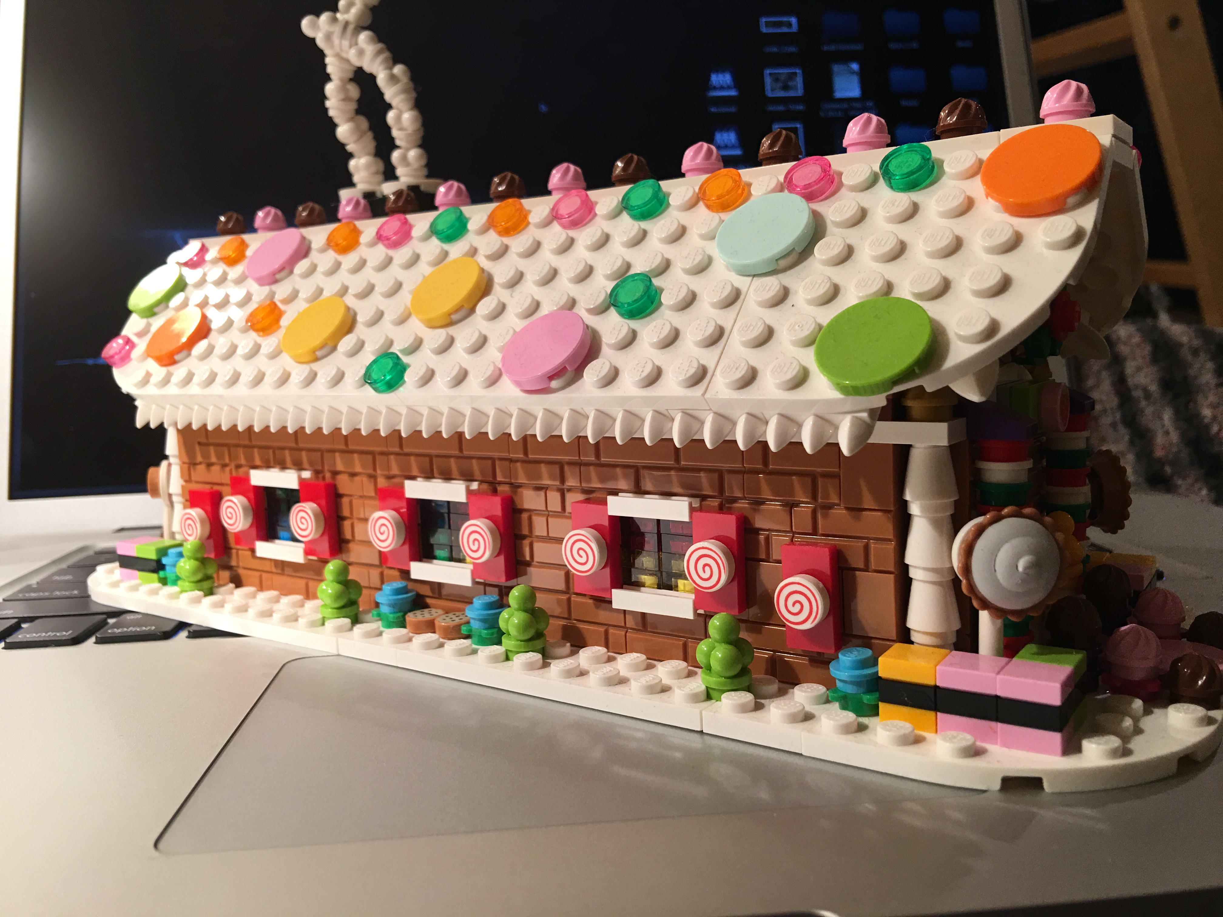 LEGO Moc Gingerbread House by The Allergy Chef