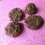 Peanut Butter Chocolate Oat Cookies