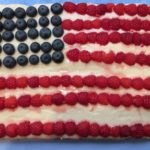 Cranberry Orange Flag Cake Recipe