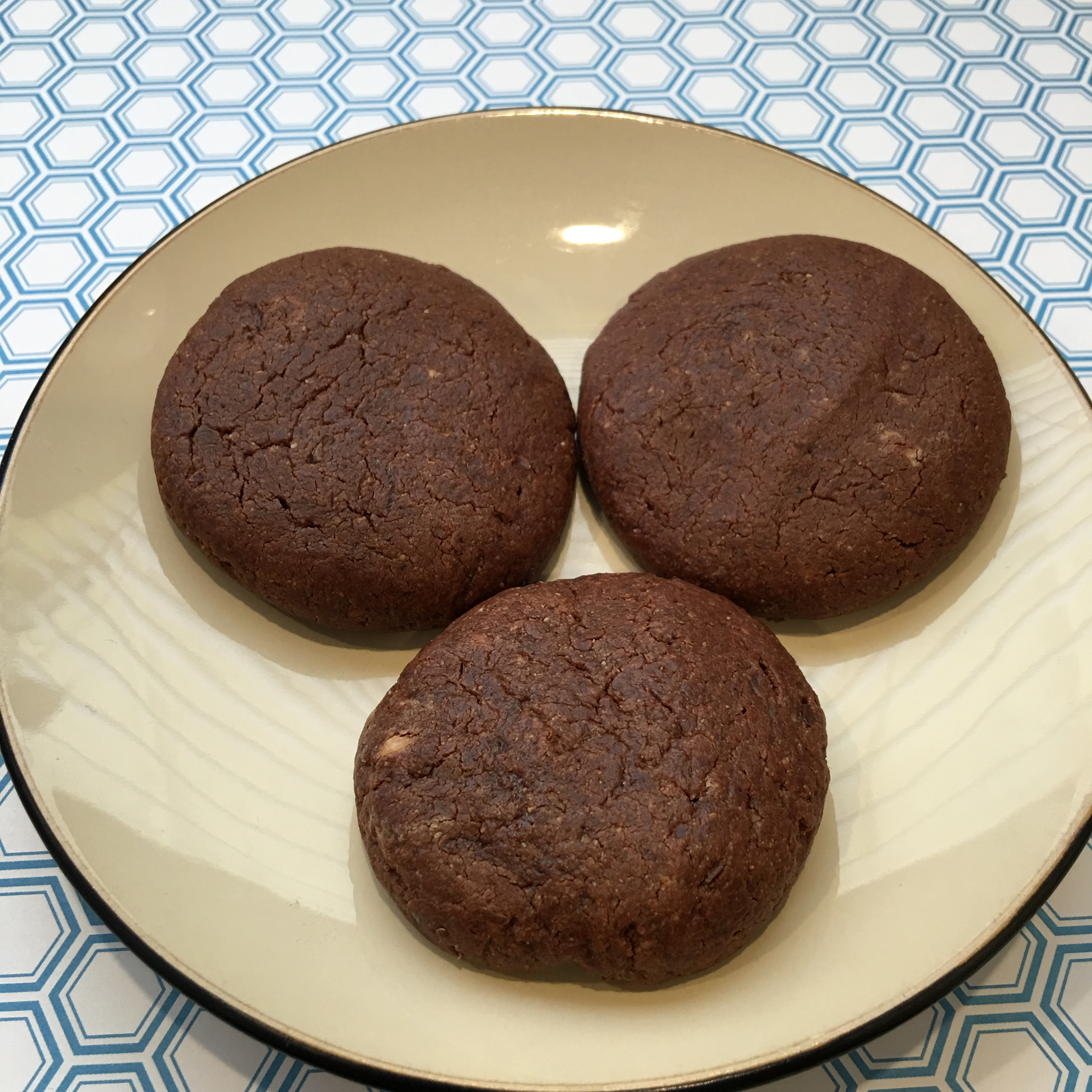 Free and Friendly Foods Paleo Chocolate Cashew Cookies
