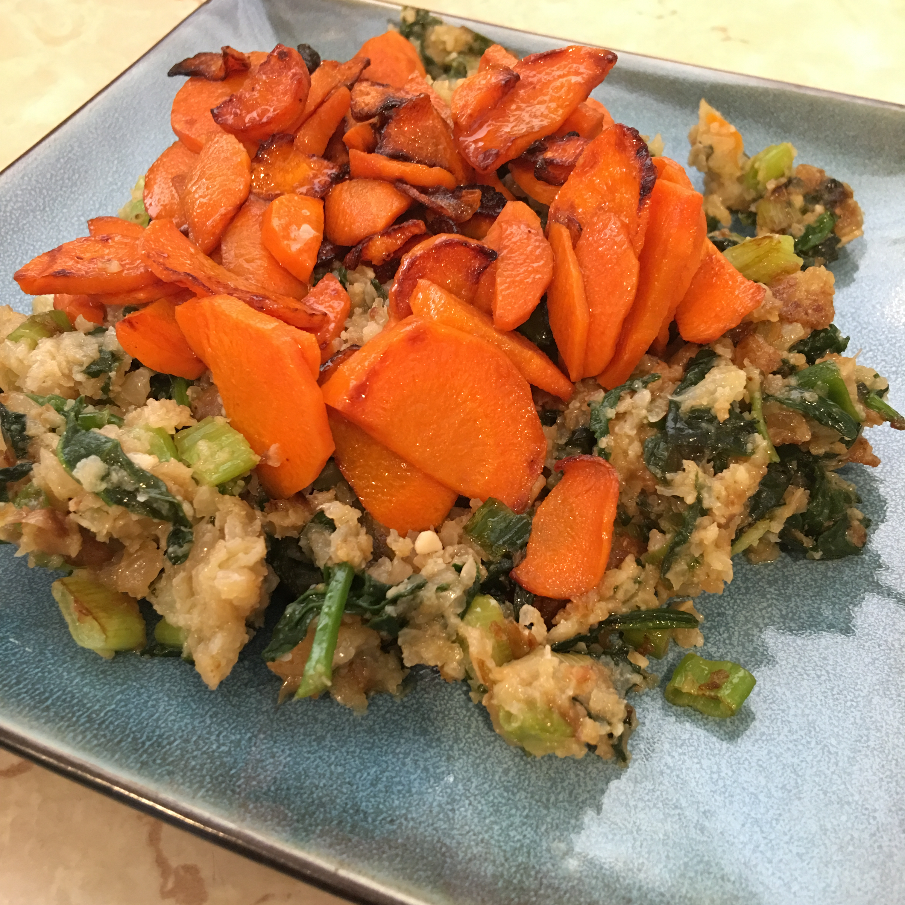 Free and Friendly Foods Carrots & Cauliflower Cookup
