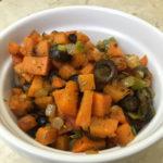 Organic Sweet Potatoes & Olives
