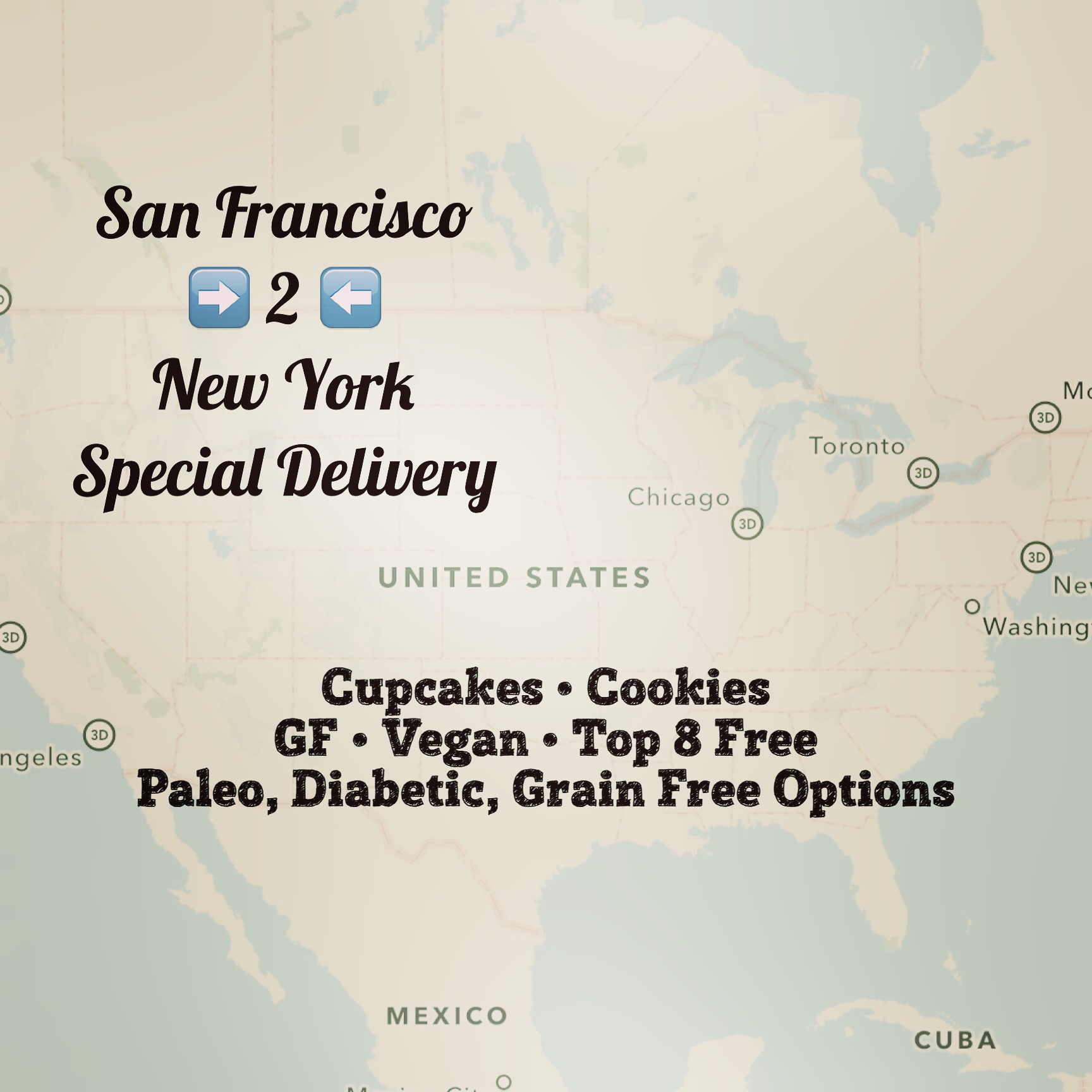 San Francisco to New York Delivery