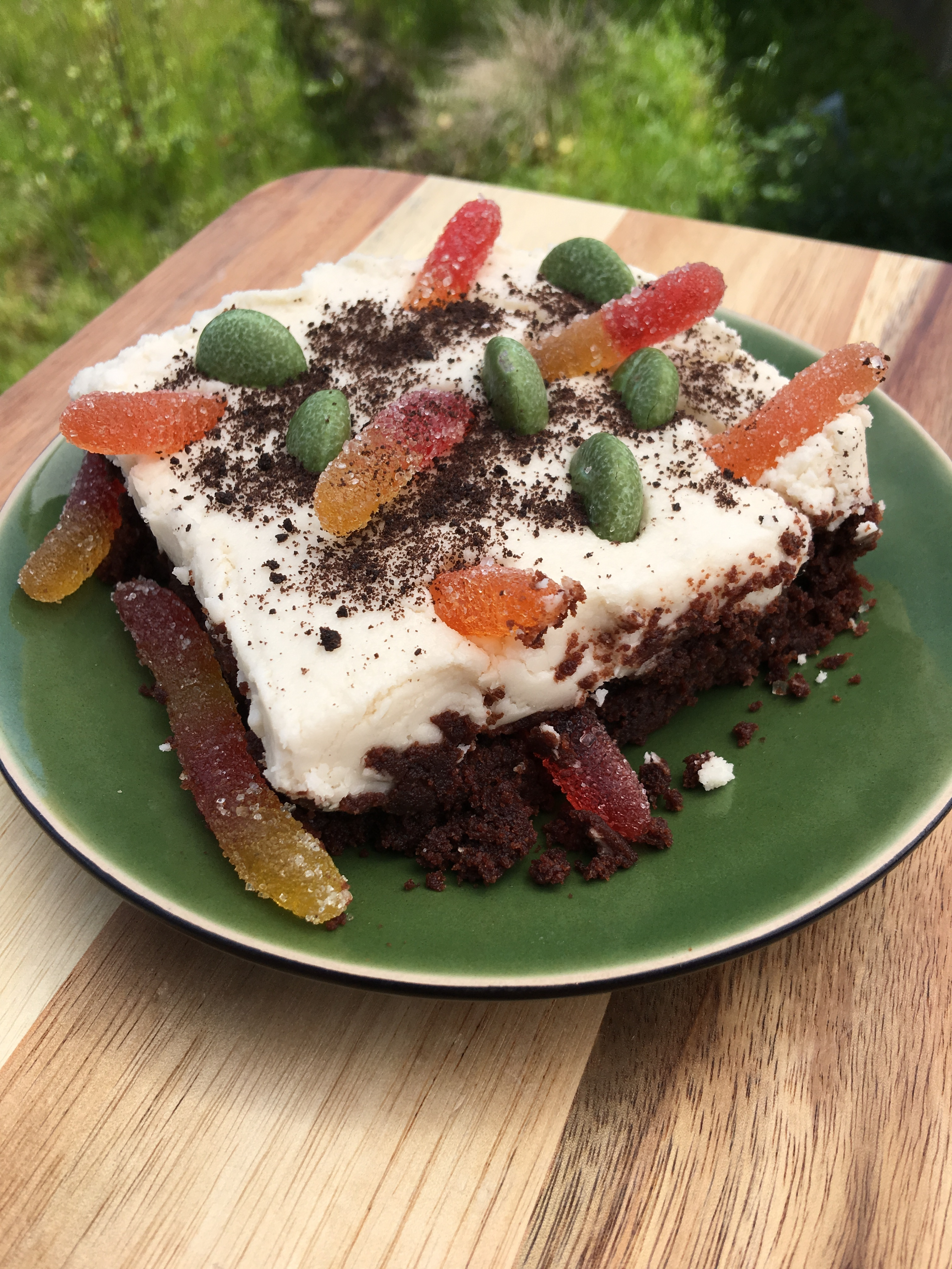 Allergy Free Earth Day Brownies by The Allergy Chef