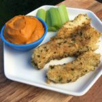 AIP Allergy Friendly Fish Sticks & Sweet Potato Dip