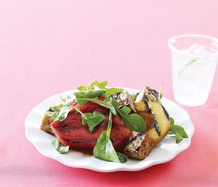 Grilled Watermelon Tempeh