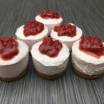 Allergy Friendly Strawberry No-Bake Cheesecake