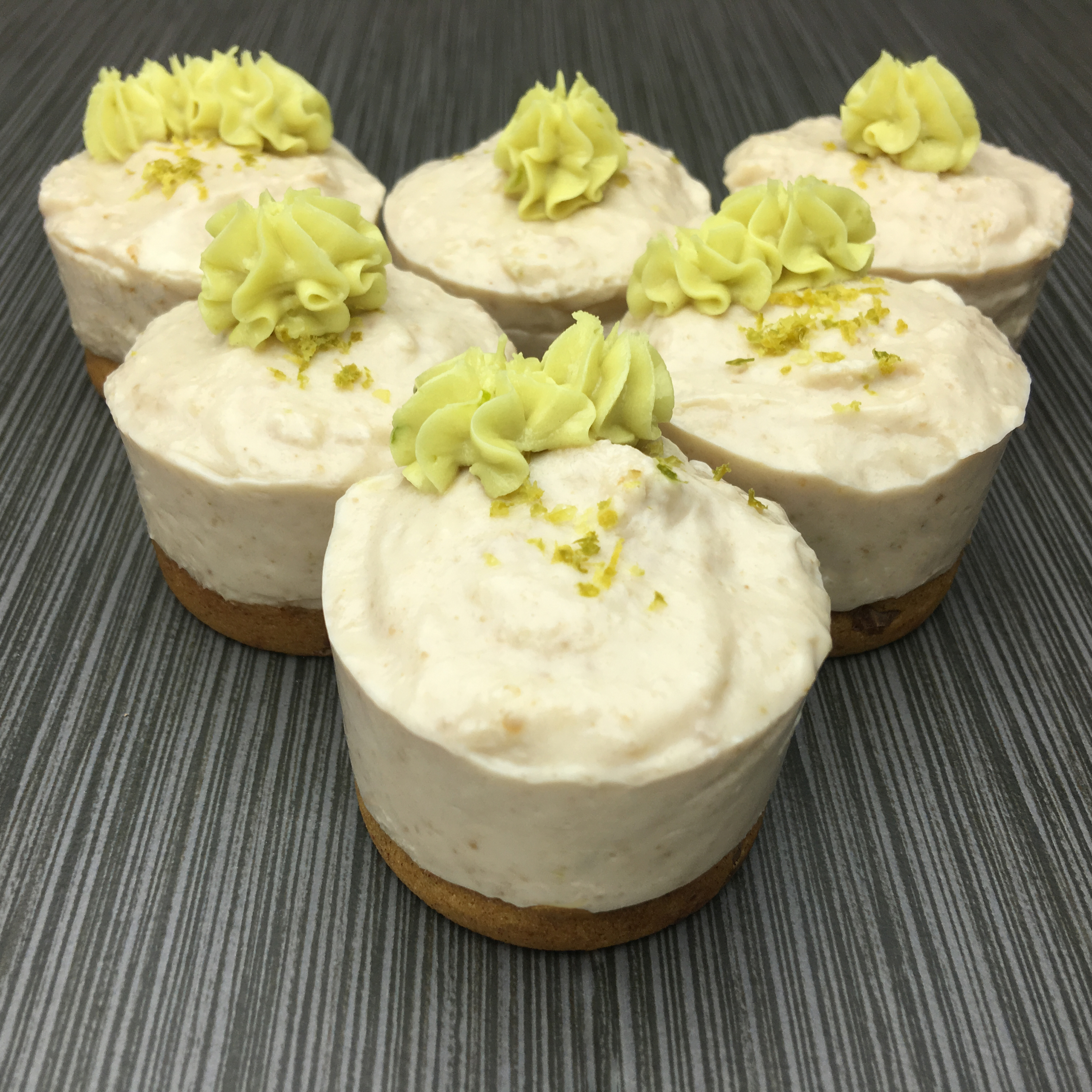 Gluten Free, Vegan, Key Lime No-Bake Cheesecake