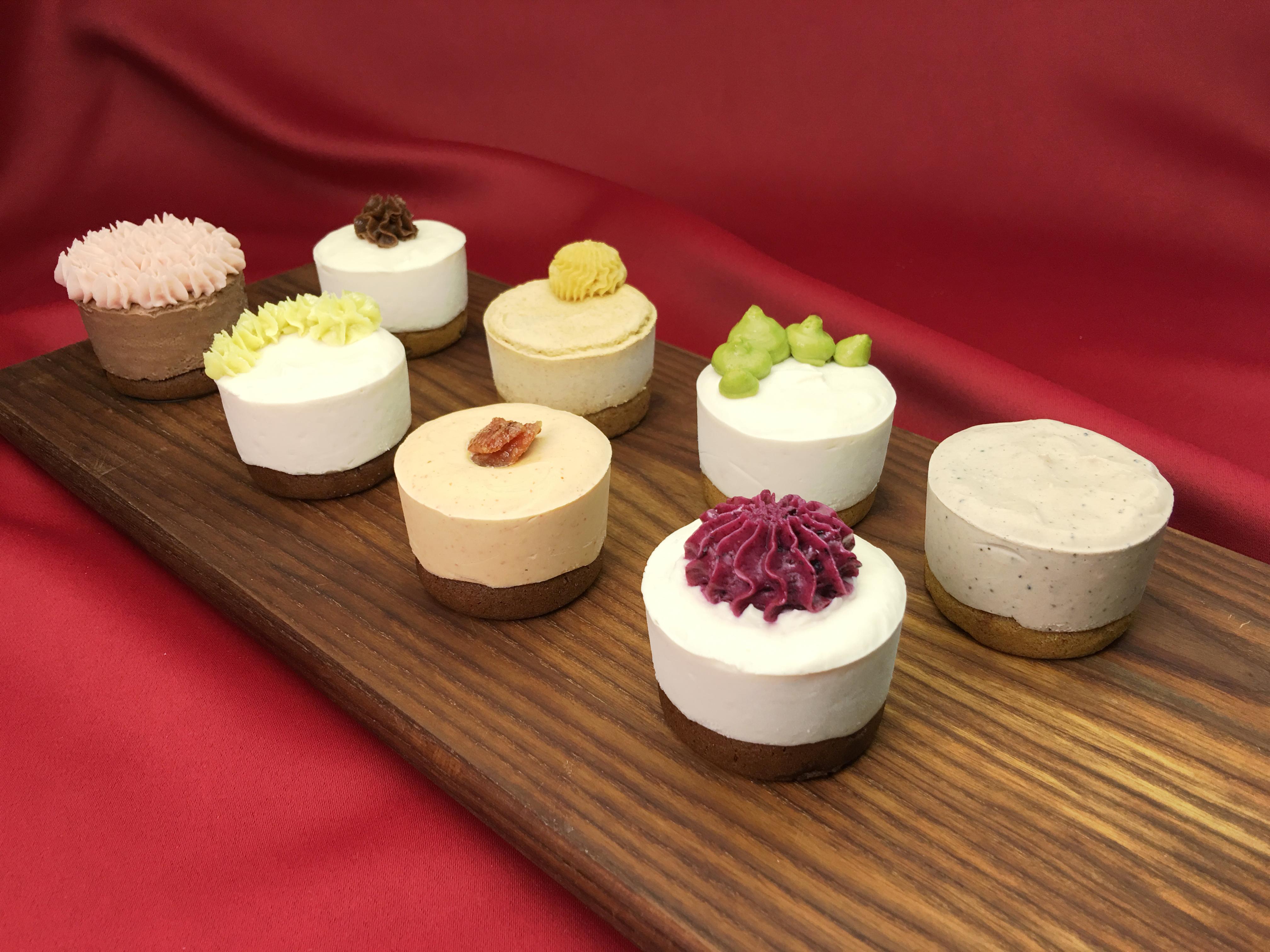 Gluten Free, Vegan, Allergy Friendly No-Bake Cheesecakes