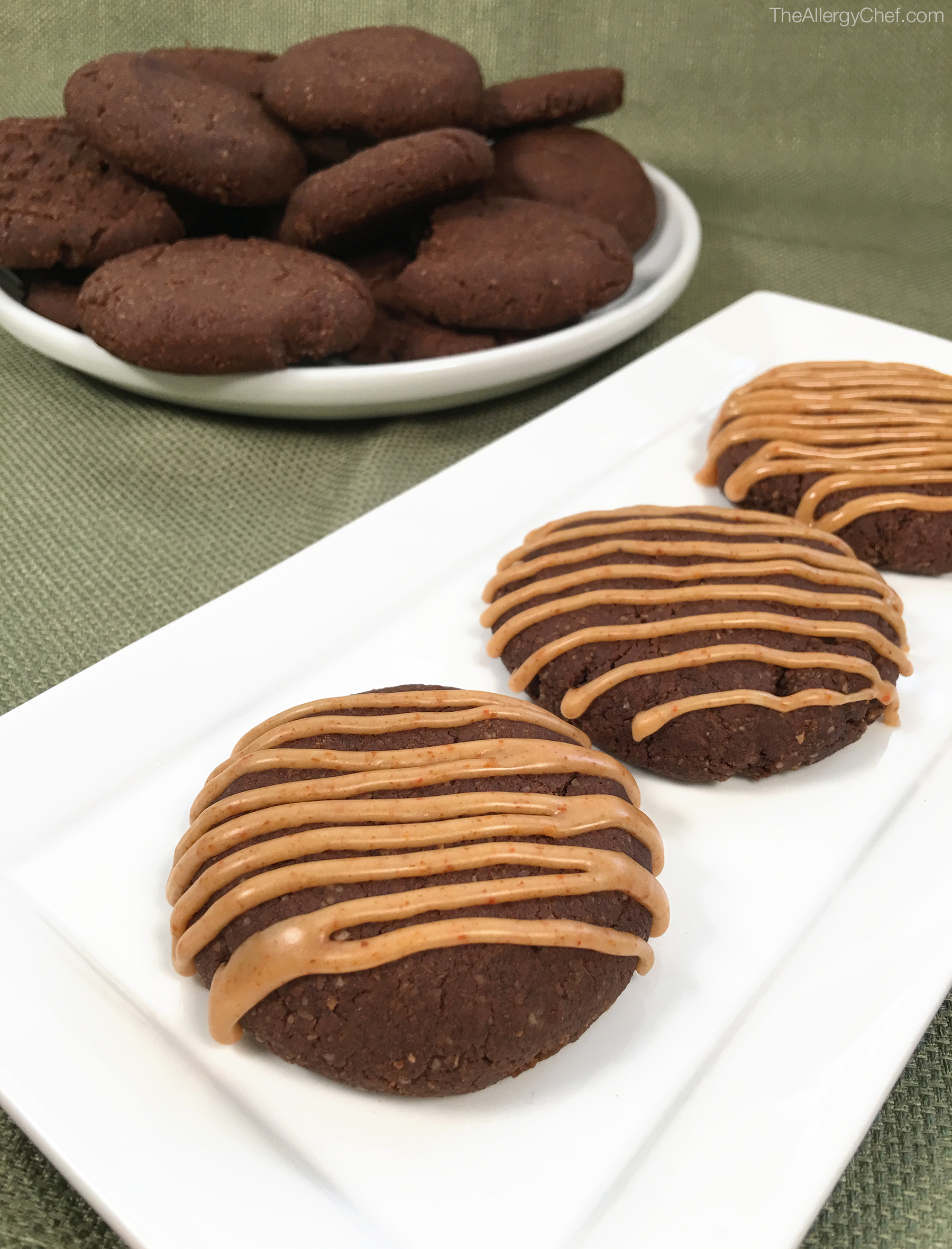 Spicy Chocolate Cookies by The Allergy Chef, Gluten Free, Vegan, Top 8 Free