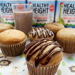 Healthy Height Banana Muffins by The Allergy Chef